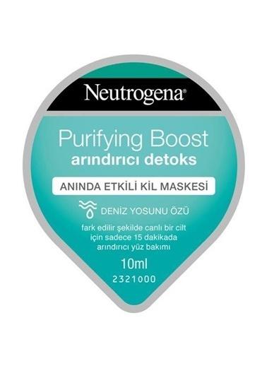 Neutrogena Neutrogena Krem Maske Purifying Boost Detoks Etkili Arındırıcı Kil 10 Ml Renksiz